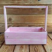Цветы и флористика ручной работы. Ярмарка Мастеров - ручная работа Ящик для цветов # 9-2. Handmade.