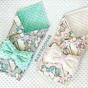 Конверты на выписку ручной работы. Ярмарка Мастеров - ручная работа Конверт одеяло. Handmade.