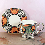 Посуда handmade. Livemaster - original item Decorative vase porcelain