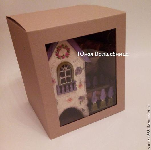 крафт-упаковка, упаковка для кукол, коробки для игрушек, подарочные наборы, новогодняя упаковка, чайный домик, оригинальная упаковка