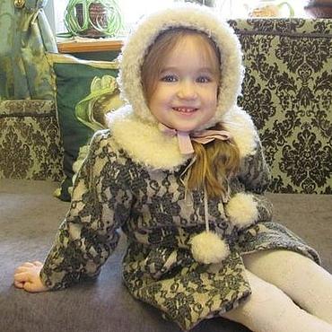 """Работы для детей, ручной работы. Ярмарка Мастеров - ручная работа Зимнее пальто """" Герда"""". Handmade."""