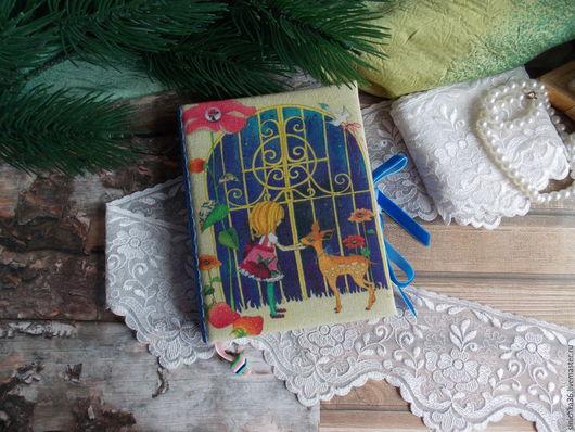 """Блокноты ручной работы. Ярмарка Мастеров - ручная работа. Купить Блокнот""""Дверь в сказочный мир"""". Handmade. Комбинированный, блокнот для девушки, подарок"""