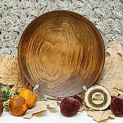 Посуда handmade. Livemaster - original item The flat plate of Fir 20,5#59. Handmade.