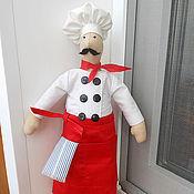 Куклы и игрушки ручной работы. Ярмарка Мастеров - ручная работа Повар-итальянец. Handmade.