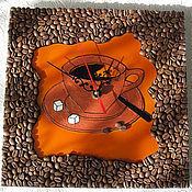 """Часы ручной работы. Ярмарка Мастеров - ручная работа Хенд-мейд часы """"Кофейные"""". Handmade."""