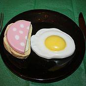 """Косметика ручной работы. Ярмарка Мастеров - ручная работа Набор мыла """"Завтрак холостяка"""". Handmade."""