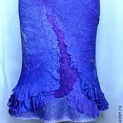 Одежда ручной работы. Ярмарка Мастеров - ручная работа Валяная юбка...Фиолетта. Handmade.