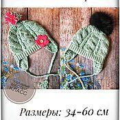 Материалы для творчества handmade. Livemaster - original item Hat with braids crochet. Handmade.