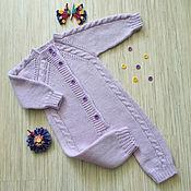 Работы для детей, handmade. Livemaster - original item Jumpsuit Violet. Handmade.