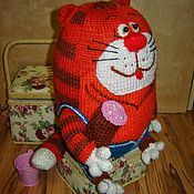 Куклы и игрушки handmade. Livemaster - original item A cat that doesn`t want to Tahiti. Handmade.
