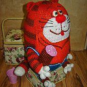 Куклы и игрушки ручной работы. Ярмарка Мастеров - ручная работа Кот, который не хочет на Таити. Handmade.