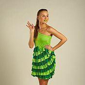 """Одежда ручной работы. Ярмарка Мастеров - ручная работа Летнее платье """"Свежая зелень"""". Handmade."""