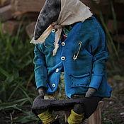 Куклы и игрушки handmade. Livemaster - original item Baba Galya. Handmade.