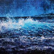 """Картины и панно ручной работы. Ярмарка Мастеров - ручная работа """"Дух моря"""" 50/70. Handmade."""