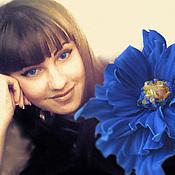 Украшения handmade. Livemaster - original item the colors of the skin. decoration brooch pin blue fantasy. Handmade.
