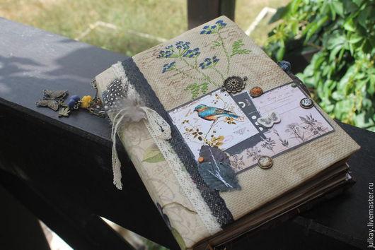 """Блокноты ручной работы. Ярмарка Мастеров - ручная работа. Купить Блокнот ручной работы """"Письма лета.."""". Handmade. Разноцветный"""