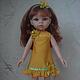 Одежда для кукол ручной работы. Платье на куклу 32см. Paola Reina. Юлия Полякова (Fashion-doll). Интернет-магазин Ярмарка Мастеров.
