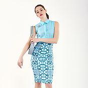 Одежда handmade. Livemaster - original item The emerald skirt. Handmade.