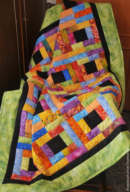 Текстиль, ковры ручной работы. Ярмарка Мастеров - ручная работа. Купить Городские сны. Handmade. Лоскутное одеяло