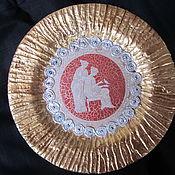 """Посуда ручной работы. Ярмарка Мастеров - ручная работа Декоративная тарелка """"Богини"""". Handmade."""