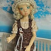 """Одежда для кукол ручной работы. Ярмарка Мастеров - ручная работа одежда для куклы БЖД. комплект """"дачно-курортный"""". Handmade."""