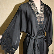 Одежда handmade. Livemaster - original item Robe-kimono shorts. Handmade.