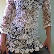 Одежда ручной работы. Ярмарка Мастеров - ручная работа Туника ,вязаная крючком .Ирландское кружево ,вязание.. Handmade.