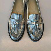 Обувь ручной работы. Ярмарка Мастеров - ручная работа Лоферы Женские. Handmade.