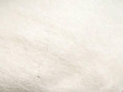 Валяние ручной работы. Ярмарка Мастеров - ручная работа. Купить Шерсть Альпака - цвет Натуральный белый. Handmade. Белый
