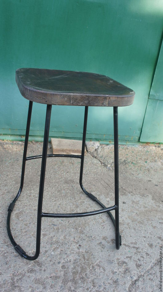 Мебель ручной работы. Ярмарка Мастеров - ручная работа. Купить Барные стулья. Handmade. Черный, Массив ЯСЕНЯ