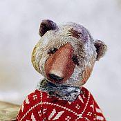 Куклы и игрушки ручной работы. Ярмарка Мастеров - ручная работа мишка-тедди Никита. Nikita bear. Handmade.