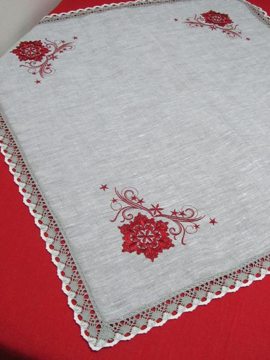 """Текстиль, ковры ручной работы. Ярмарка Мастеров - ручная работа. Купить Комплект столового белья """"Изобилие"""" 2 предмета. Handmade."""
