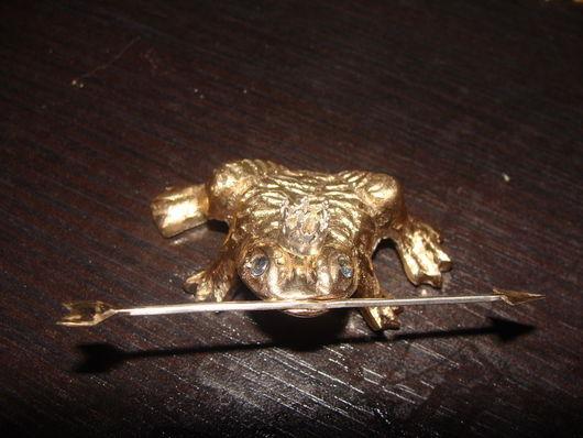 Подарочные наборы ручной работы. Ярмарка Мастеров - ручная работа. Купить Царевна лягушка, золочёная бронза... Handmade. Золотой