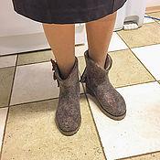 Обувь ручной работы handmade. Livemaster - original item Trendy women`s short boots.. Handmade.