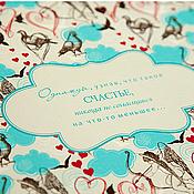 "Канцелярские товары ручной работы. Ярмарка Мастеров - ручная работа Фотоальбом ""Love Story"" (3). Handmade."