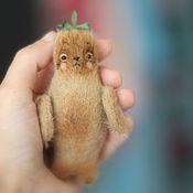 Куклы и игрушки ручной работы. Ярмарка Мастеров - ручная работа Морской Котик карманный. Handmade.