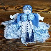 Куклы и игрушки ручной работы. Ярмарка Мастеров - ручная работа Вепсская обережная куколка (капустка). Handmade.