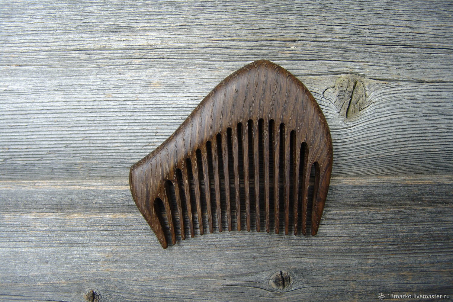 The comb is made of bog oak, Combs, Moscow,  Фото №1