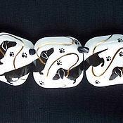 Украшения ручной работы. Ярмарка Мастеров - ручная работа Колье с таксами.. Handmade.