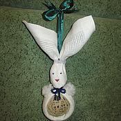 Подарки к праздникам ручной работы. Ярмарка Мастеров - ручная работа Рождественский заяц. Handmade.