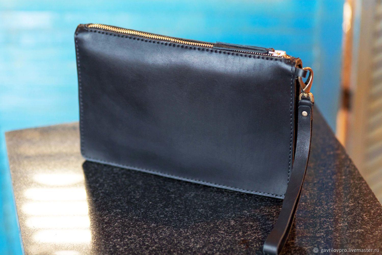 3e8185965e5a Мужские сумки ручной работы. Ярмарка Мастеров - ручная работа. Купить Клатч  мужской.