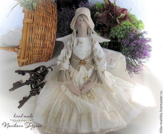 Тильда Фея Прованс Тильда прованс Кукла Прованс Фея прованса Тильда ангел Ангел-хранитель Домашний ангел Тильда ангел Хозяюшка Стиль прованс Кукла тильда Стиль тильда