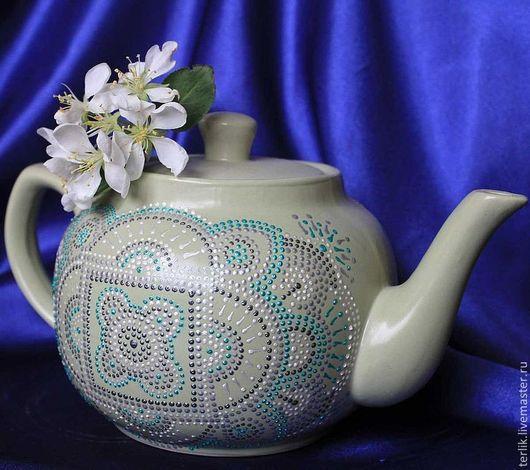 посуда, украшение кухни, столовой, посуда для чая, чайная посуда, заварочный чайник,  посуда в подарок хозяйке, практичный подарок на любой случай, подарок на день рождения, посуда керамика