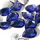 Для украшений ручной работы. Ярмарка Мастеров - ручная работа. Купить Кристаллы в стиле Сваровски, цвет Cobalt Blue 18x13 см.. Handmade.