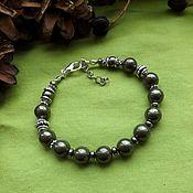 Фен-шуй и эзотерика handmade. Livemaster - original item Bracelet with pyrite. Handmade.