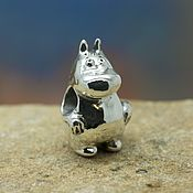Материалы для творчества handmade. Livemaster - original item Moomintroll charm. Handmade.