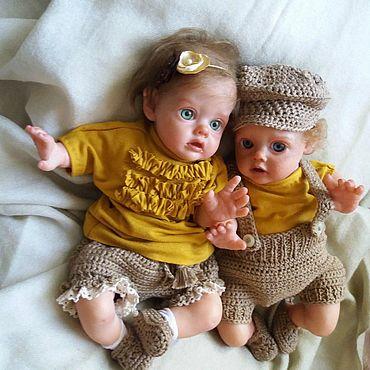 Куклы и игрушки ручной работы. Ярмарка Мастеров - ручная работа Куклы:НАБОР Реалистичные куклы младенцы реборн - мини Эльфы. Handmade.