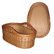 Работы для детей, handmade. Livemaster - original item Cradle-basket