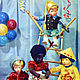 Винтажные книги, журналы. Ярмарка Мастеров - ручная работа. Купить Открытка. Куклы. Берлин. 1950-е. Handmade. Комбинированный, германия