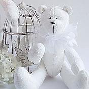 Куклы и игрушки ручной работы. Ярмарка Мастеров - ручная работа Мишки белоснежные. Handmade.